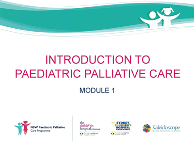 Introduction to Paediatric Palliative Care Module 1 Image
